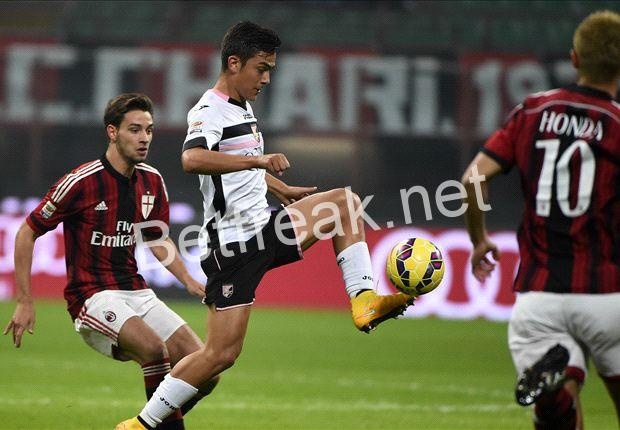 Ac milan palermo betting tips forex spread betting reviews london