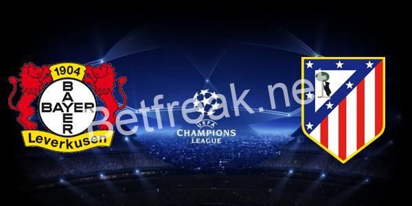 Bayer Leverkusen vs Atletico Madrid (Prediction, Preview & Betting Tips) /  21.02.2017