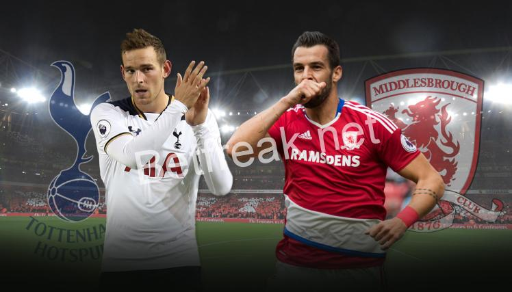 Tottenham vs Middlesbrough (Prediction, Preview & Betting