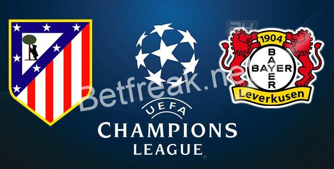 Atletico Madrid vs Bayer Leverkusen (Prediction, Preview & Betting Tips) /  15.03.2017