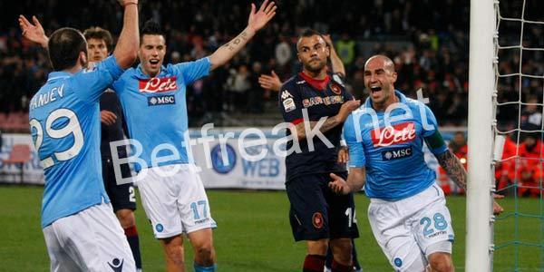 Napoli vs cagliari betting tips online betting the belmont