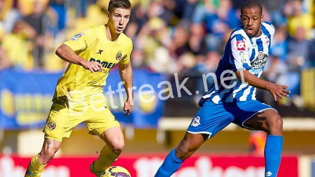 Deportivo lc vs villarreal betting tips friends wife making good on lost bet